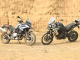 Video : Triumph Tiger 800 XCx Vs BMW F 850 GS Comparison Review