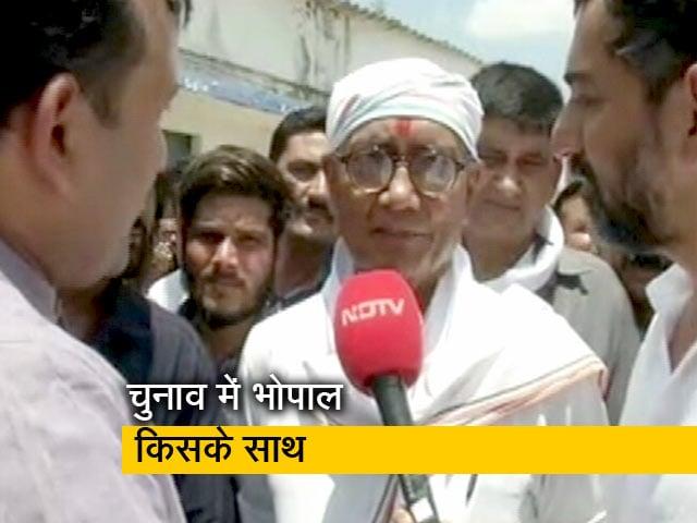 Video : भोपाल में प्रज्ञा सिंह ठाकुर मजबूत हैं या फिर दिग्विजय सिंह?