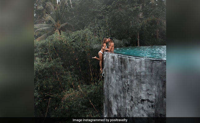 Instagram Couple Slammed For 'Dangerous' Pic From Edge Of Infinity Pool