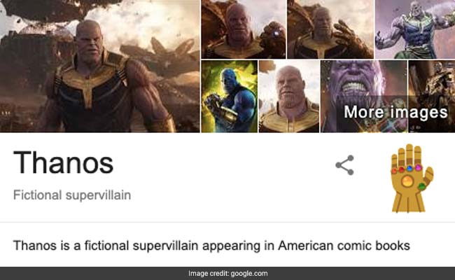 Google Thanos and See What Happens