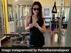 Trending: In Kareena Kapoor's Gym Selfie Spot Taimur And Saif Ali Khan