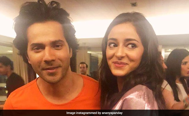 Ananya Panday: Varun Dhawan Knows I Am In Love With Him And It's Awkward
