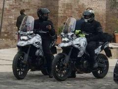 Suzuki DR Big Spotted Undergoing Test Runs In Italy