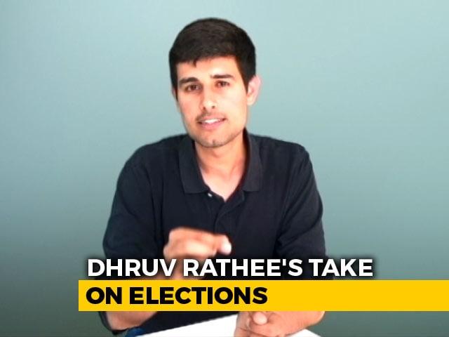 Video : YouTuber Dhruv Rathee's Takedown Of <i>Netagiri</i> In Poll Season