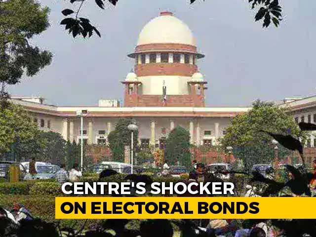 Video : Top Court's Order On Anonymous Electoral Bonds Scheme Tomorrow