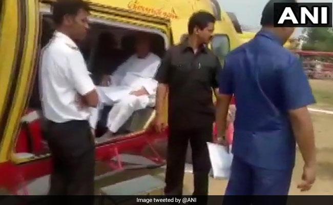 Surprise Checks On Naveen Patnaik, HD Kumaraswamy's Choppers Before Polls