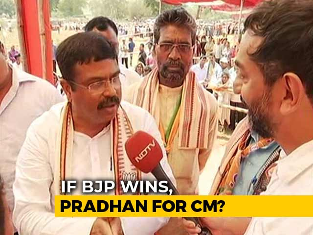Video : On The Campaign Trail With BJP's Dharmendra Pradhan In Odisha