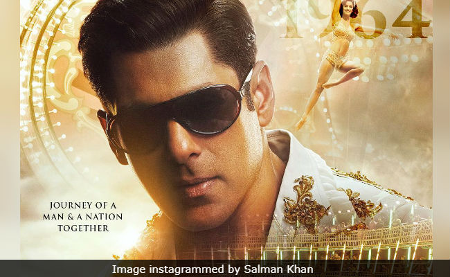 Bharat Poster Featuring 'Young' Salman Khan Has An International Fan - Paris Hilton