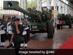 """Army Gets A Fire Power Boost After Induction Of """"Dhanush"""" Artillery Guns"""