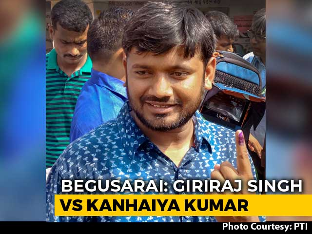 "Video : ""Begusarai Fighting For Self-Respect,"" Says CPI Candidate Kanhaiya Kumar"