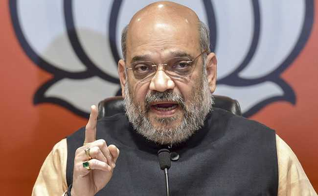 'BJP Brought Peace To Northeast, Paved Way For Development': Amit Shah