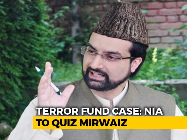 Video : Mirwaiz Umar Farooq To Appear Before Probe Agency In Terror Funding Case