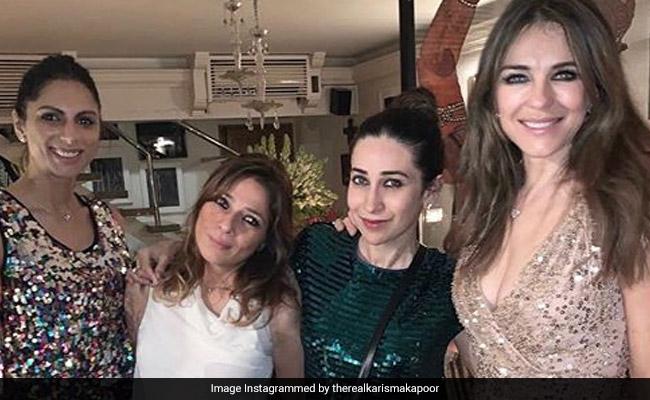 Karisma Kapoor's Weekendnama With Elizabeth Hurley In Mumbai
