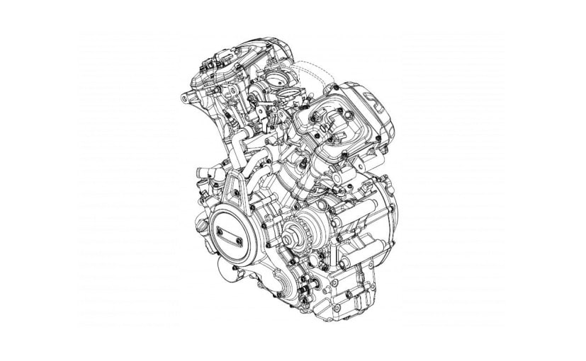 Harley-Davidson has revealed rumoured design sketches of a new engine