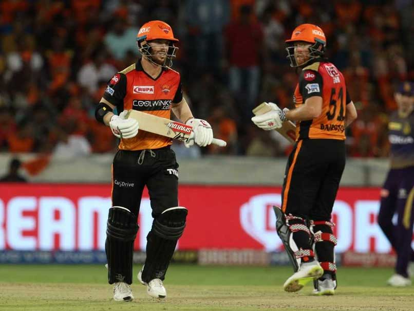 Warner, Bairstow Too Hot To Handle For KKR, SRH Return To Top Four