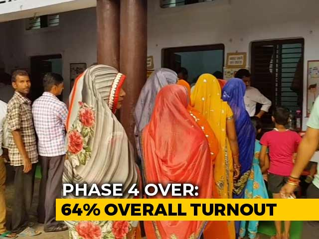 Video : 64% Voting In Fourth Phase Of Polls, Clashes Reported In Bengal