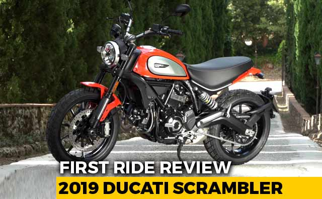 2019 Ducati Scrambler First Ride Review