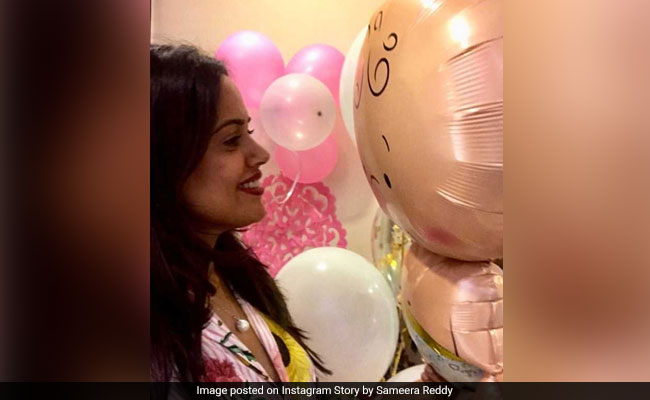 Inside Sameera Reddy's Baby Shower With Her Adorable Son Hans Varde