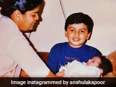 Arjun Kapoor's Always Got Sister Anshula's Back, 'Literally' Since She Was A Baby