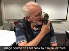In Heartwarming Viral Video, Cops Reunite Homeless Man With His Pet Rat