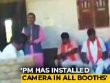 Video : PM Modi Has Installed Cameras, Will Know If You Vote Congress: BJP Leader