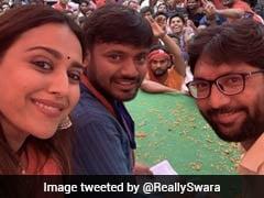 Swara Bhasker's Nickname For Kanhaiya Kumar On Bihar Campaign Trail