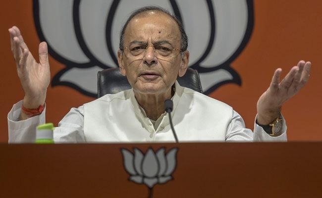 'Desperate Congress Discovered BJP Role' In Rajiv Gandhi Case: Arun Jaitley