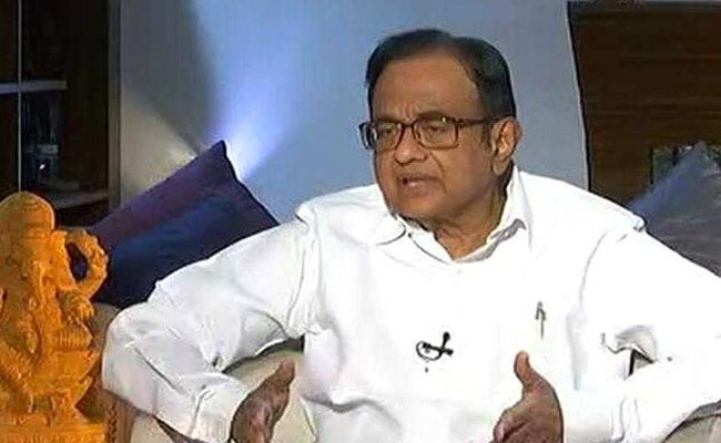 P Chidambaram Welcomes 3 Announcements By PM In Independence Day Speech