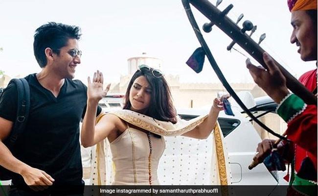 Samantha Ruth Prabhu Posts New Pics From Venkatesh Daggubati's Daughter Aashritha's Wedding. Bonus: Naga Chaitanya