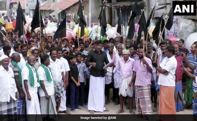 'No Road, Water': Village In Tamil Nadu Refuses To Vote