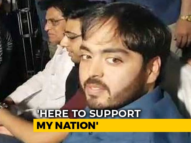 Video : Anant Ambani Seen At PM Modi Rally Days After Father Backs Congress Man