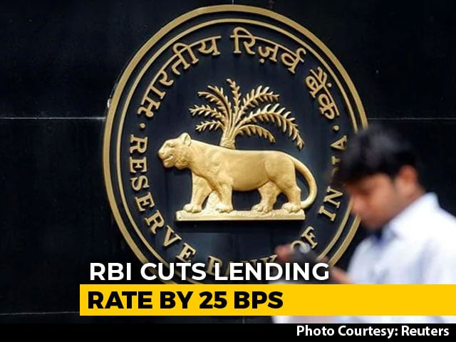 Video : RBI Cuts Key Interest Rate Week Before Polls, Loans Set To Be Cheaper