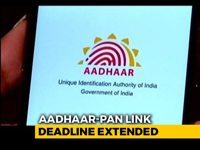 Video : Deadline For Linking Aadhaar, PAN Increased By 6 Months To September 30
