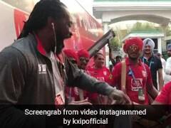 IPL 2019, KXIP vs SRH: प्रीति जिंटा की सेल्फी हुई वायरल, पंजाबी ढोल पर क्रिस गेल का भांगड़ा- Video