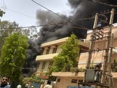 Fire At Chemical Factory In Delhi's Naraina, 30 Fire Engines At The Spot