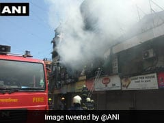 Fire Breaks Out At Mumbai's Crawford Market, 4 Fire Engines At The Spot