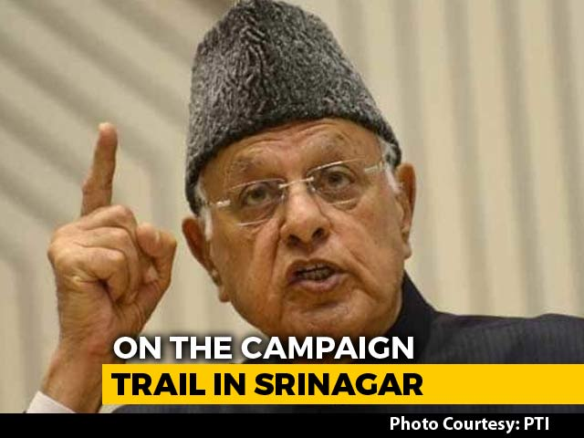 In Srinagar, Farooq Abdullah Fights Election On 'Special Status' Plank