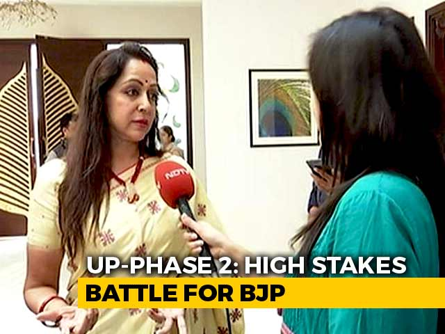 Video : I Have Been A <i>Brajwasi</i> For 35 Years: BJP's Hema Malini Talks To NDTV