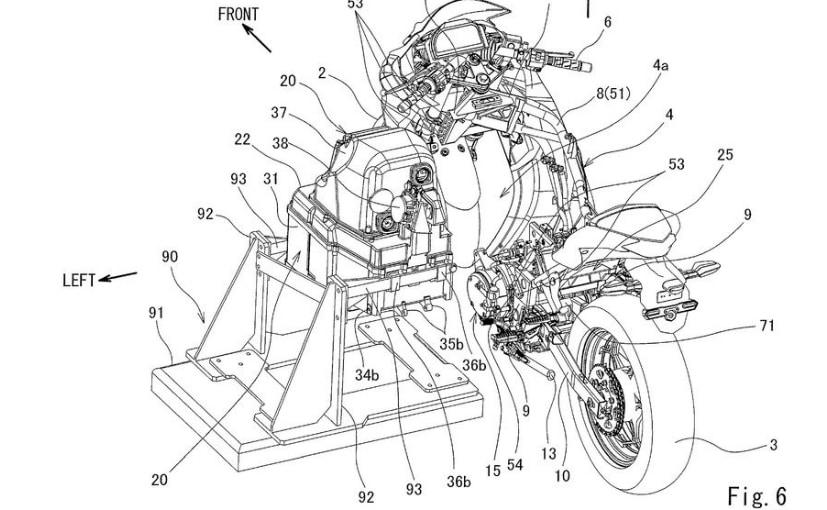 Kawasaki Patents Battery Pack Swap Technology