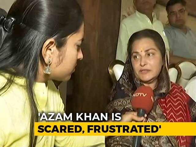 "Video : ""Azam Khan Shouldn't Be Allowed To Contest Election"": Jaya Prada"
