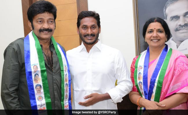 Actor Couple Jeevitha, Rajasekhar Return To YSR Congress