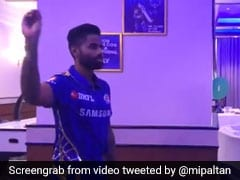 Watch: Mumbai Indians