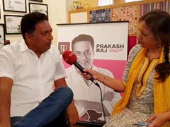 Actor Prakash Raj On Why He Is Contesting As Independent From Bengaluru Central