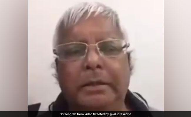 'Achche Din': Lalu Yadav Replugs Old Dubsmash Of PM Modi's Poll Slogan