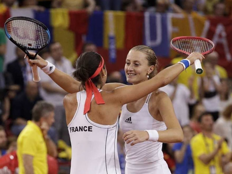 Former Foes Unite To Lead France Into Fed Cup Final Against Australia