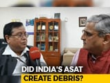 Video : To NASA's Mission Shakti Rebuke, Ex-Defence Research Chief's Rebuttal