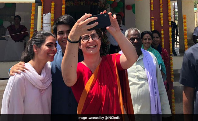 Election 2019: Priyanka Gandhi Vadra On Why Son Rehan Missed Being A First-Time Voter