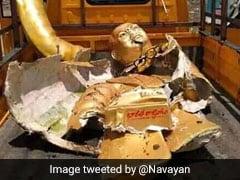 2 Arrested After Damaged Ambedkar Statue Found In Garbage Truck