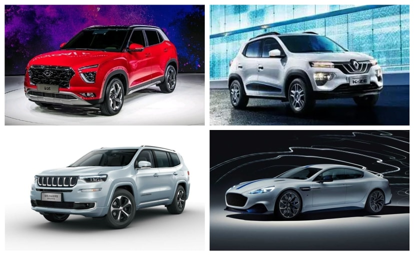 Shanghai motor show: Electric vehicles take centre stage