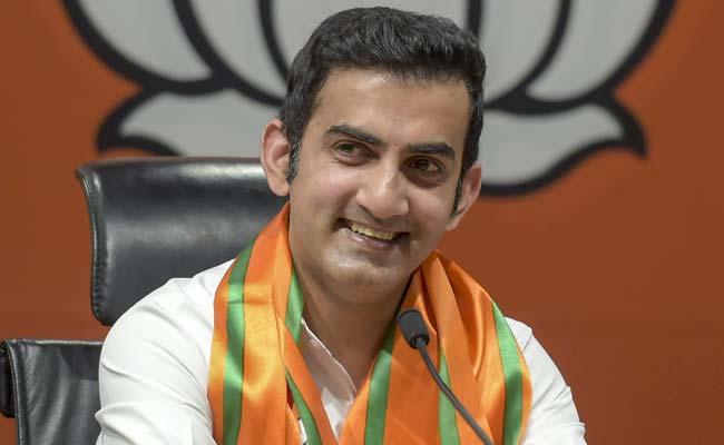 Cricketer-Turned-Politician Gautam Gambhir Is BJP's East Delhi Candidate